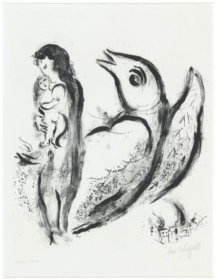 Marc-Chagall-Mother-and-child