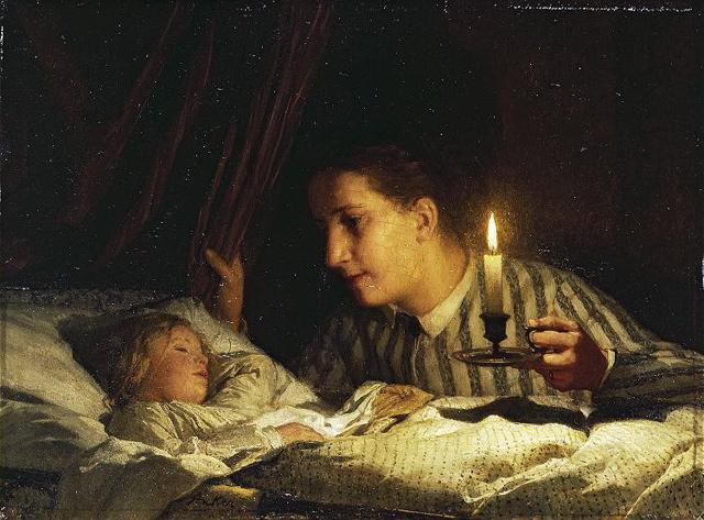 Albert-AnkerJeune-maman-contemplant-son-enfant1875.jpg