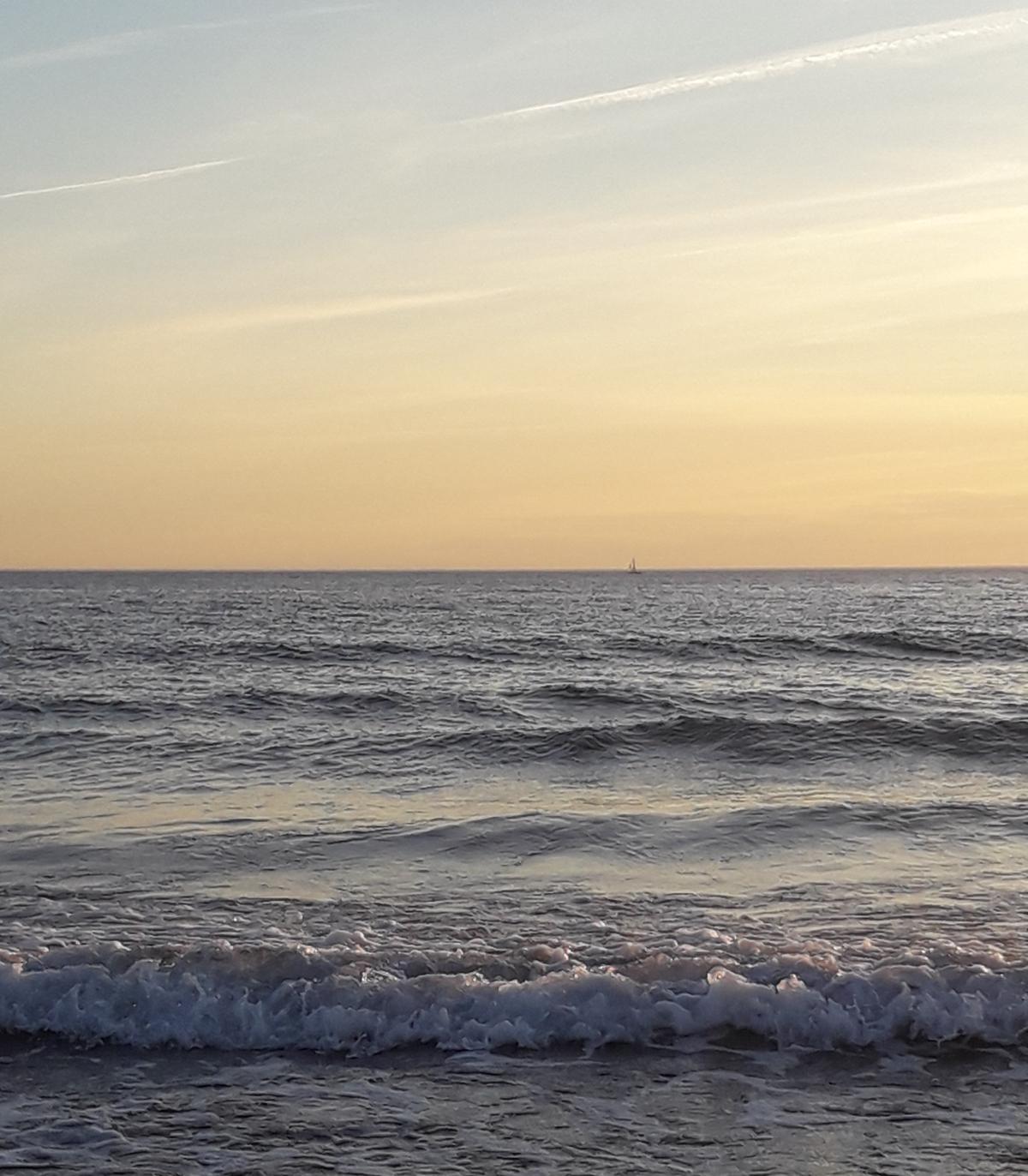 la mer et la lumière!